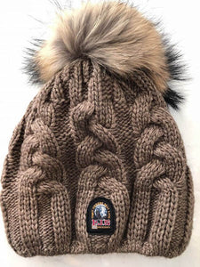 Cable Hat in Brown Melange, PARAJUMPERS - VALLEY TRIBECA