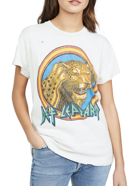 Def Leppard Crew Tee, MADEWORN - VALLEY TRIBECA