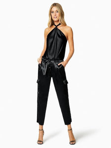 Metallic Allyn Pant, RAMY BROOK - VALLEY TRIBECA