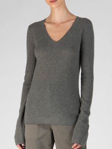 Cashmere V Neck Sweater, ATM - VALLEY TRIBECA