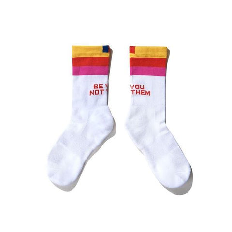 "The ""Be You Not Them"" Sock"