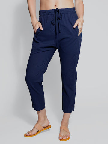 Draper Pant in Marina Blue, XIRENA - VALLEY TRIBECA