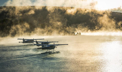Touristic overview of the Tuque by seaplane for two people by Aviation La Tuque
