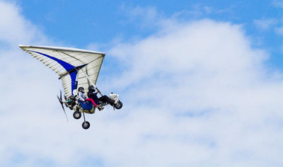 Flight experience for 2 in motorized hang gliding! by Aviation Rou-Air