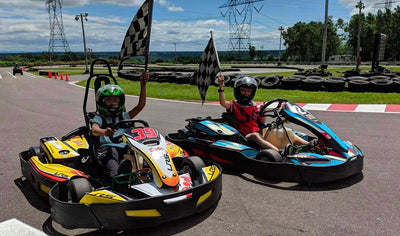 Powerful go-karting package for the whole family by KCR Karting