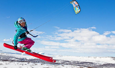 Cours d'initiation au snowkite par Kite Xtreme