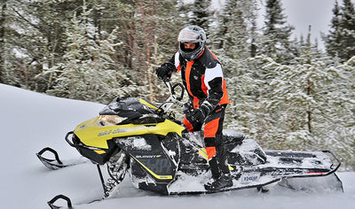 Snowmobiling and snowshoeing for two by Outdoor Logistik