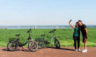 Quebec Aventure Tours: Electric Bike Ride on Île d'Orl by Quebec Aventure Tours
