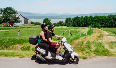 "Quebec Aventure Tours: Double Scooter Escape on Île d ""Orl by Quebec Aventure Tours"