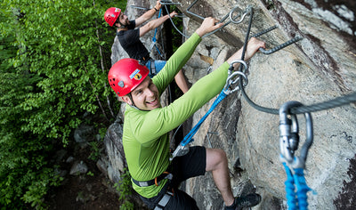 VIA FERRATA experience for 2 people by Arbraska