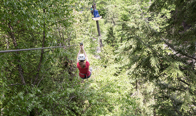 Experience the ZIPTOUR in Quebec City by Arbraska