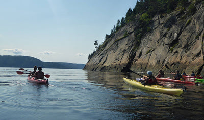 Stay and Kayak at Fjord-du-Saguenay by Aventure Rose-des-Vents