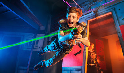LaserTag experience for 1 person by Laser Plus Trois-Rivières