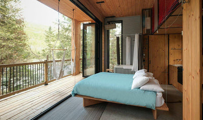 Unique nature getaway in micro chalet Zoobox by Le Vertendre