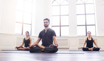Forfait reconnection en couple - Yoga & massages par Studio Blanc