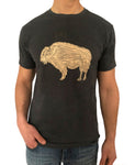 Buffalo Wood Short Sleeve Graphic T-Shirt