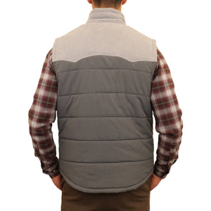 Quilted Western Vest
