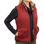 Diamond Quilted Reversible Vest