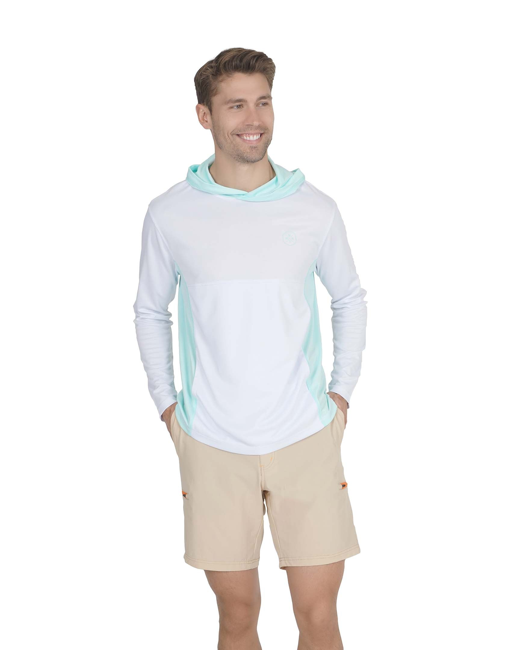 Color Block Sun Protection Hoodie