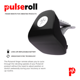 PULSEROLL VIBRATING PEANUT MASSAGE BALL RED