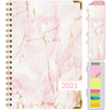HARDCOVER  2021 Planner - PINK MARBLE (Nov 2020 - Dec 2021)