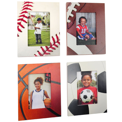 4x6 Sports Frames 4-Pack