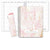 HARDCOVER 7 Period DATED Teacher Lesson Plan (D101 -Pink Marble)