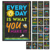 10 Extra Large Motivational Posters (24x17 inch Double Sided)