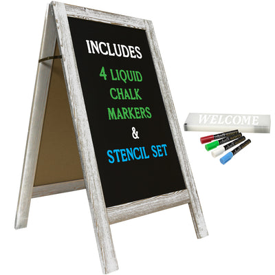 "40"" x 20"" Wooden A-Frame Chalkboard (Pack of 5)"