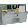 "Metal Mail Organizer: Vintage Distressed Mailbox (11""x15.75"")"