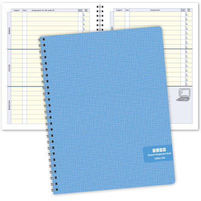 Undated Student Assignment Planner (S40)
