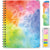 "HARDCOVER Academic Year 2020-2021 Planner 8.5""x11"" (Rainbow Watercolors)"