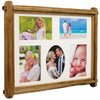 Rustic Collage Photo Frame: Holds five 4x6 Photos Ready to Hang