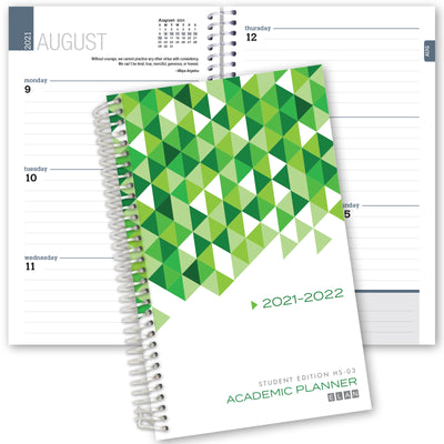 2021-2022 Student Planner for High School of College