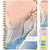 2021-2022 - Hardcover Planner - COLORFUL MARBLE
