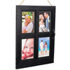 Vintage Farmhouse Window Photo Frame: Holds Four 4x6 or 5x7 Photos