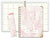 HARDCOVER 8 Period Teacher Lesson Plan (W208 - Pink Marble)