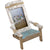 Nautical Beach Chair Photo Frame: 4x6 Photo for Tabletop Display
