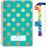 "Middle / High School Planner 2020-2021 (Matrix Style - 5.5""x8.5"" - Turquiose)"