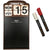 Iron Wall Mounted Metal Hanging Chalkboard Sign with Vintage Flip Calendar