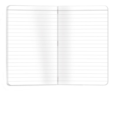 "Waterproof Notebook - 3.5""x5.5"" - Lined - Pack of 4"