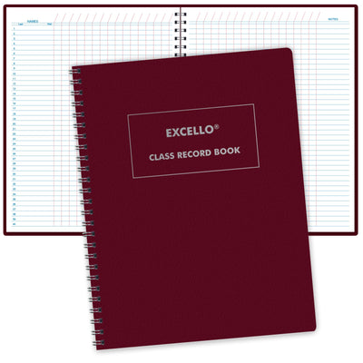 Class Record Book Unstructured (Excello)