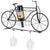 Bicycle Wall Mounted Wine Rack: Wine Bottle Holder & Wine Glass Holder