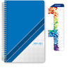 "Middle / High School Planner 2020-2021 (Block Style - 5.5""x8.5"" - Blue Stripe)"