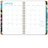 HARDCOVER  2021 Planner - BLACK FLORAL (Nov 2020 - Dec 2021)