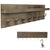 "Heavy Duty Rustic Wooden Coat Rack and Entryway Shelf 32"" x10.25"" for Entryway"