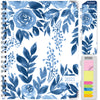 HARDCOVER  2021 Planner - BLUE BLOOM (Nov 2020 - Dec 2021)