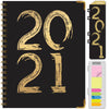 HARDCOVER  2021 Planner - BLACK/GOLD 2021 (Nov 2020 - Dec 2021)