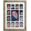 "Collage Picture Frame - School Years Frame 13 Openings 12""x16"" Inches"