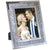 Decorative Picture Frame Photo Holder Mirror with Sparkling Crystal Border
